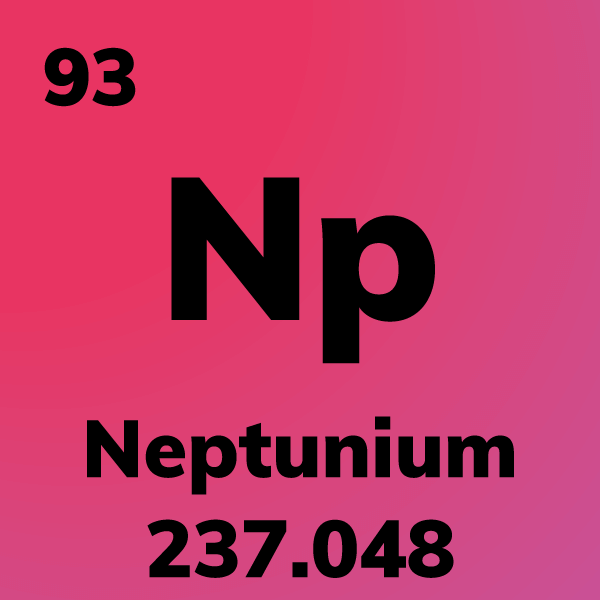 Neptunium Element Card