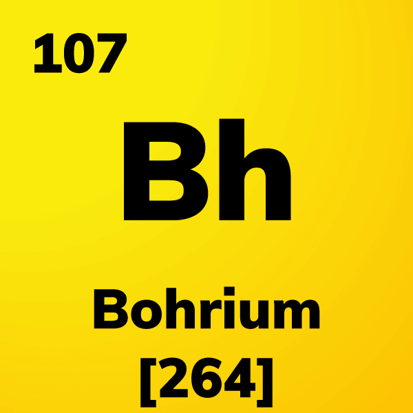 Bohrium Element Card