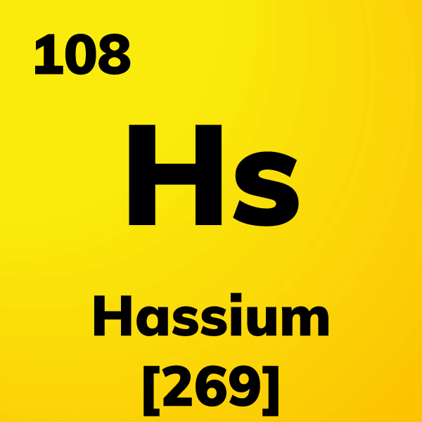 Hassium Element Card