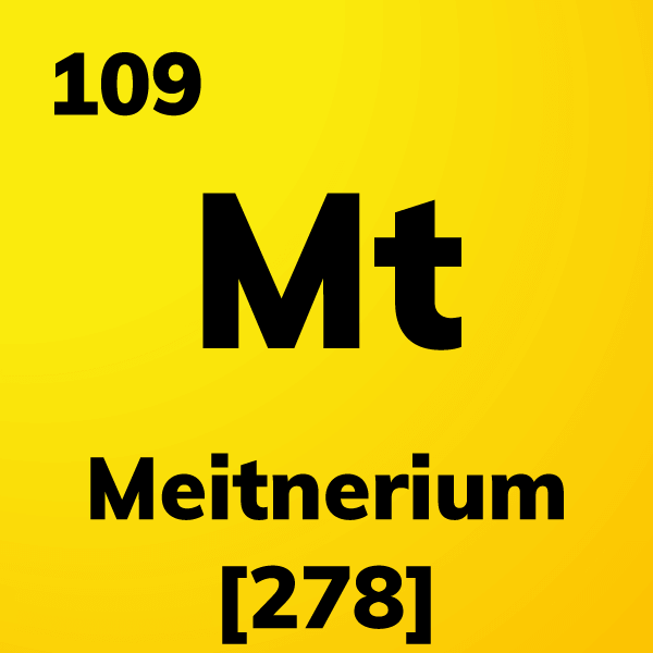 Meitnerium Element Card