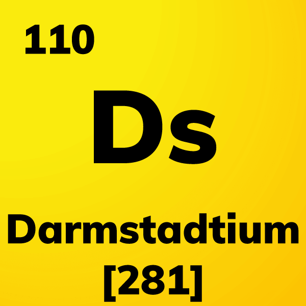 Darmstadtium Element Card