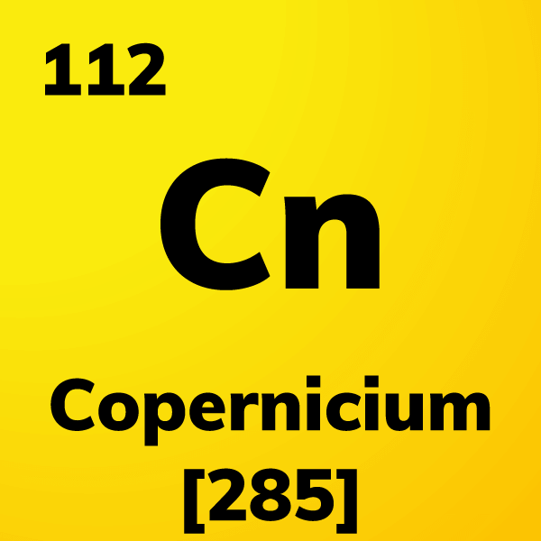 Copernicium Element Card