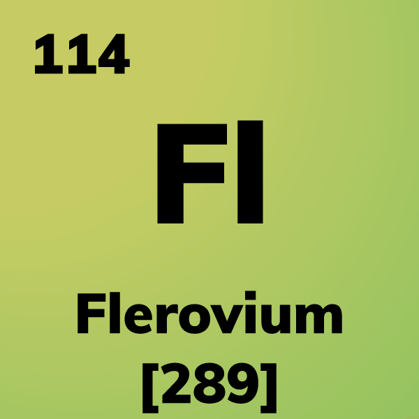 Flerovium Element Card