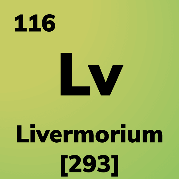 Livermorium Element Card