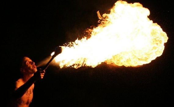 Fire Breathing Performer (TVR)