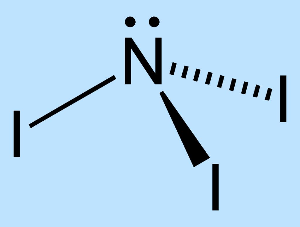 Nitrogen Triiodide Structure