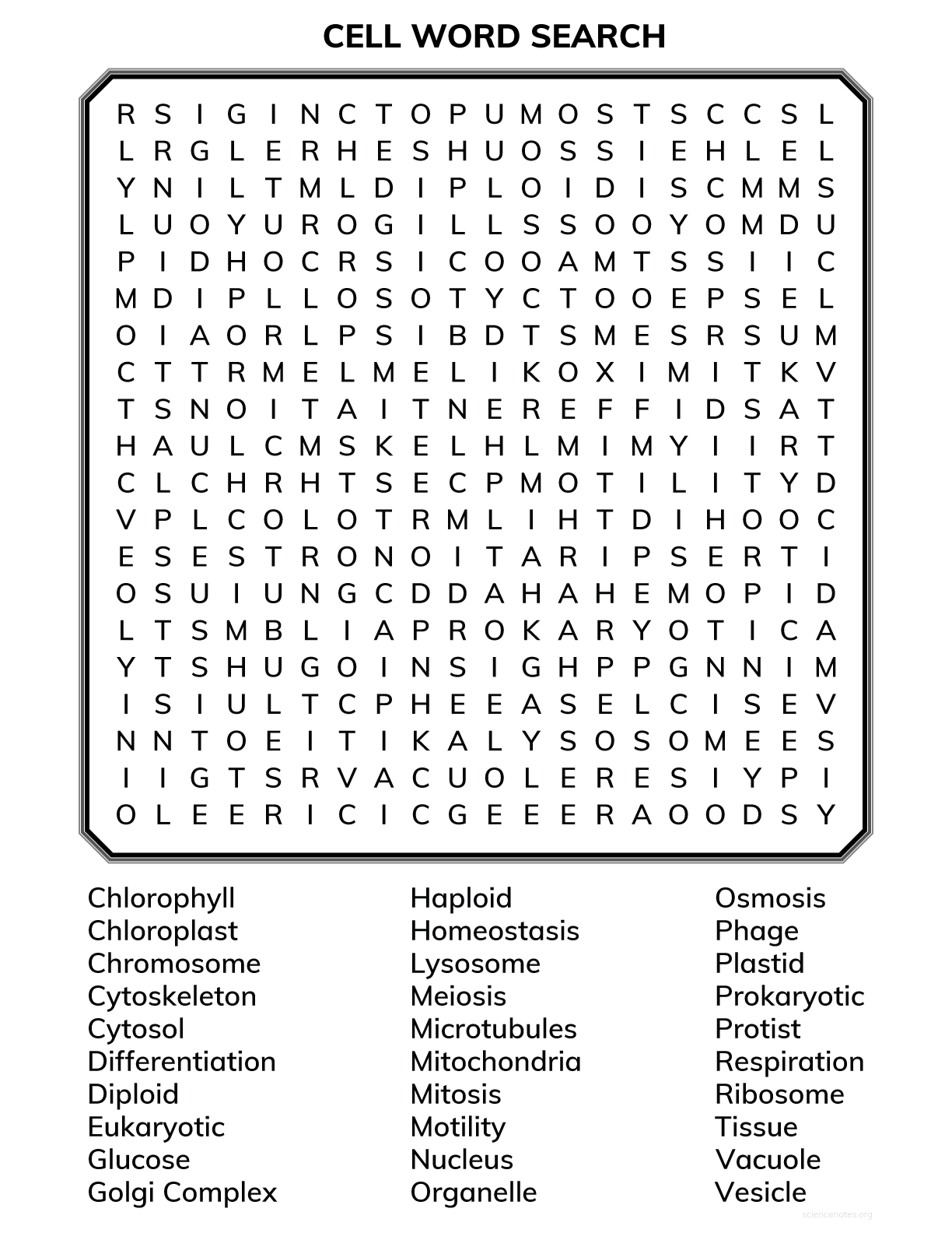 image about Printable Word Search Pdf identify Mobile Biology Phrase Seem