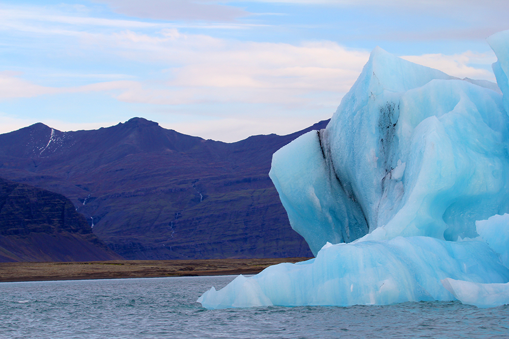 Icelandic Blue Striped Iceberg