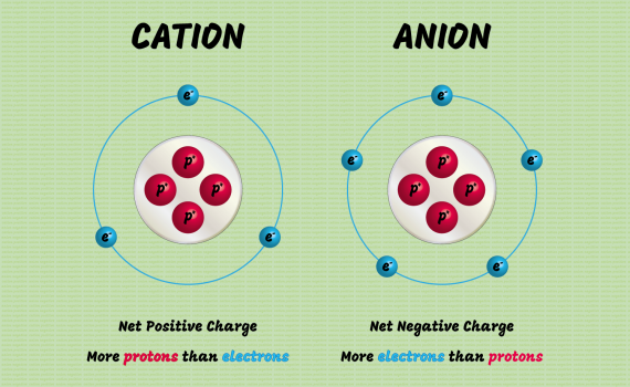 Cation and Anion Difference