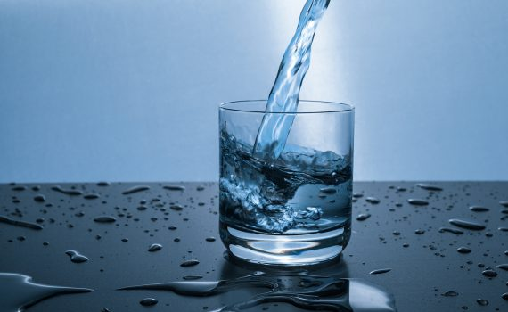 Distilled water is free of minerals.