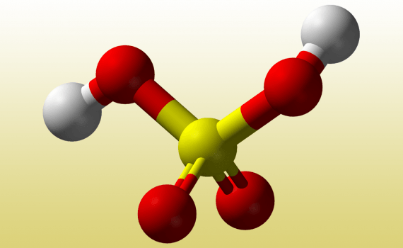 Sulfuric acid is an example of a diprotic acid.