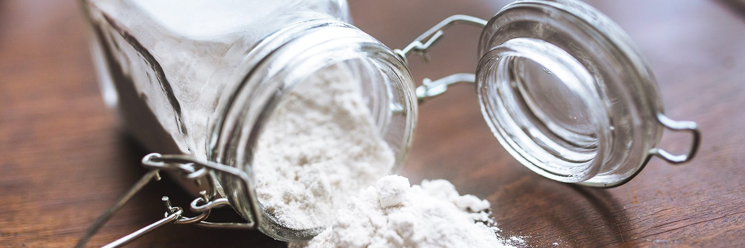 You can substitute baking powder for baking soda, but not the other way around.