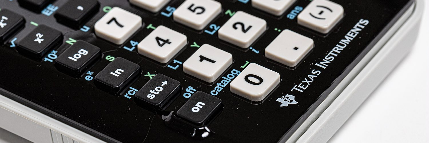 Calculators often indicate scientific notation with capital letter E or EE.