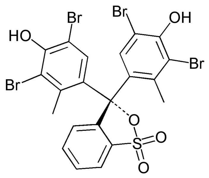 Bromocresol Green Chemical Structure