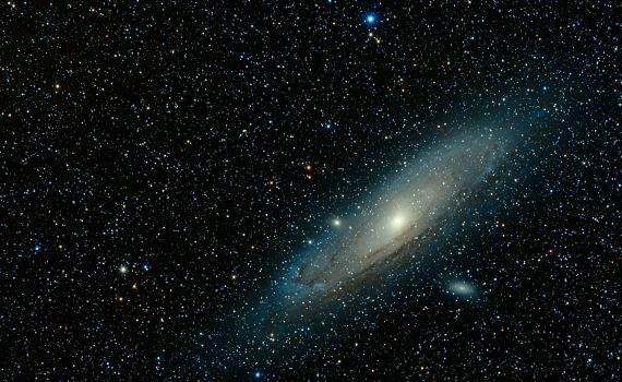 The light year is a unit of length used to measure vast distances, like between galaxies.