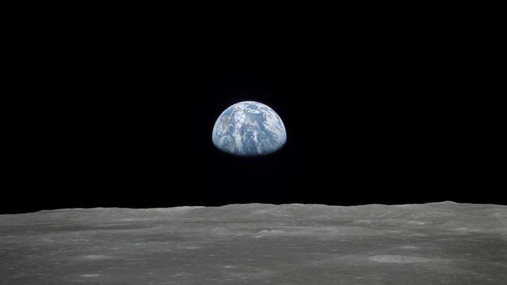 View of the Earth from the Moon