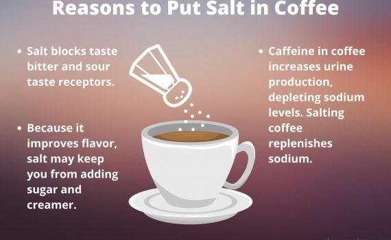 Reasons to Put Salt in Coffee