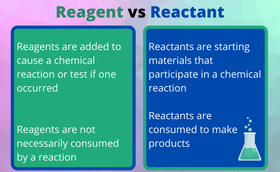 Reagent vs Reactant
