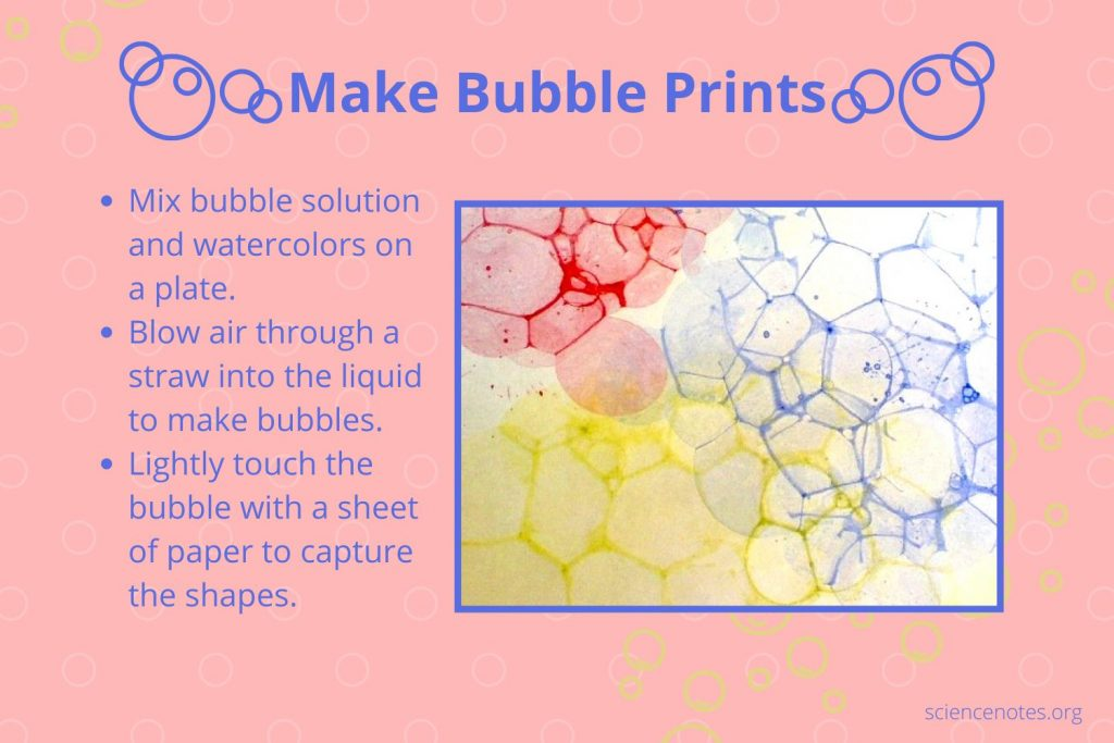 How to Make Bubble Prints