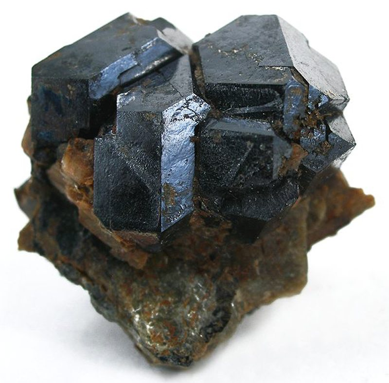 This sample of uraninite (formerly called pitchblende) contains thousands of francium-223 atoms at any given time.