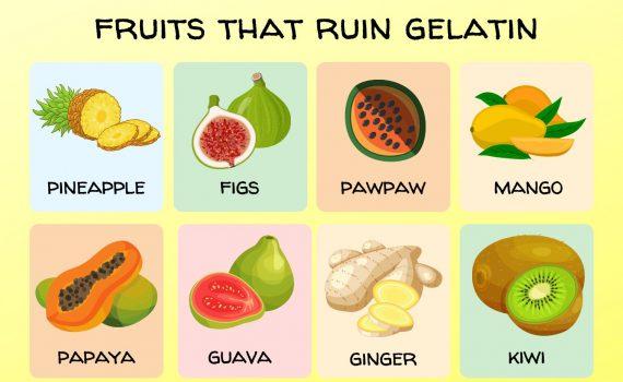 Fruits That Ruin Gelatin
