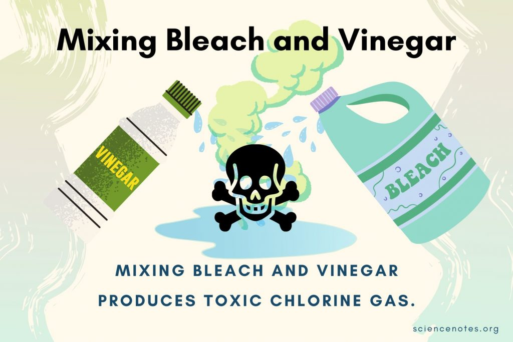Dangers of Mixing Bleach and Vinegar