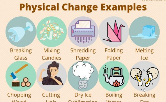 Physical Change Examples