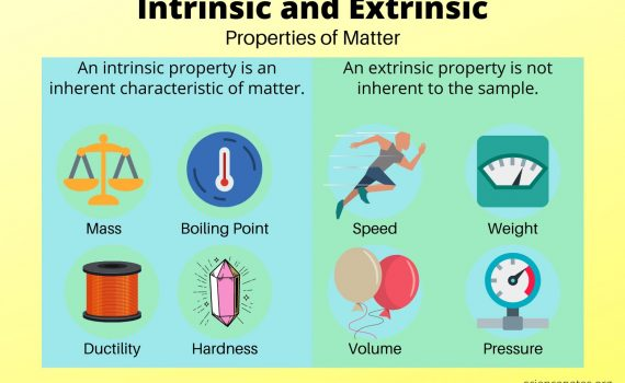 Intrinsic and Extrinsic Properties of Matter