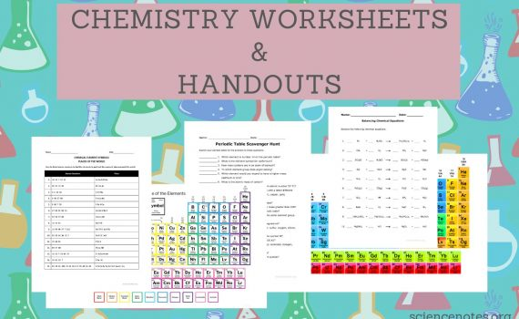 Chemistry Worksheets and Handouts