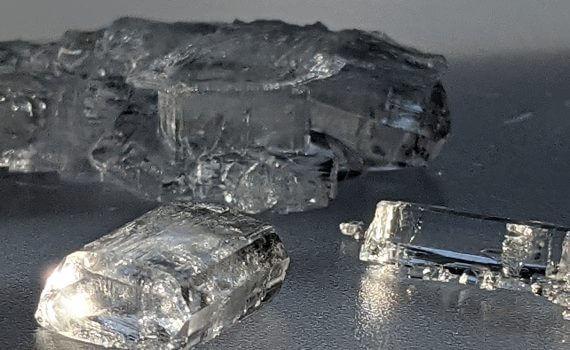 Rochelle Salt Crystals